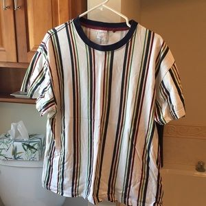 Urban Outfitters Boxy Striped Tee